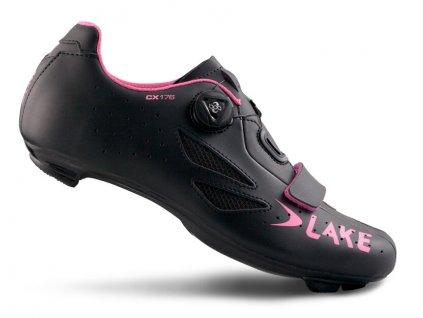 Tretry LAKE CX176 černo/růžové