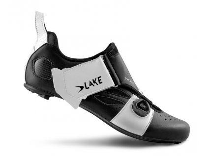 Tretry LAKE TX322 Carbon černo/bílé
