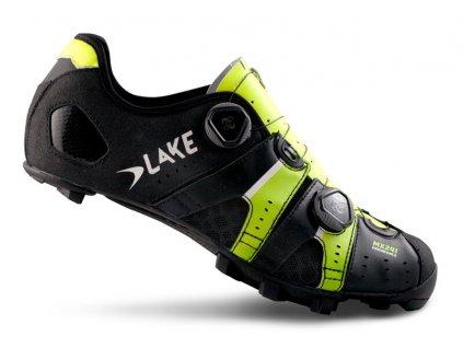 Tretry LAKE MX241 černo/neon žluté