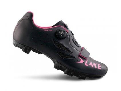 Tretry LAKE MX176 černo/růžové
