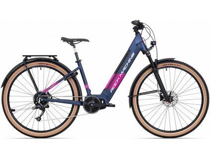 elektrokolo ROCK MACHINE Storm INT e90-29 lady touring mat dark blue/silver/pink