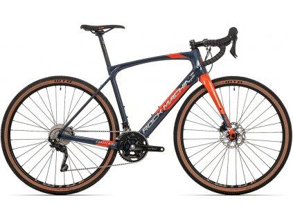 kolo Rock Machine GravelRide CRB 700 gloss dark blue/brick orange/silver