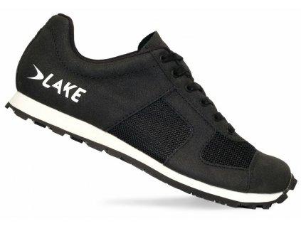 Tretry LAKE MX1 Flat černo/bílé