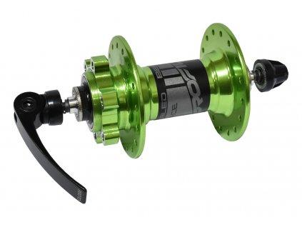 náboj přední PROFIL D041SB 2 lož.32děr zelený