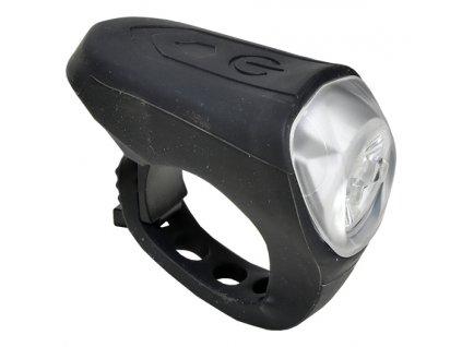 světlo přední PROFIL JY-378M silicon USB černé