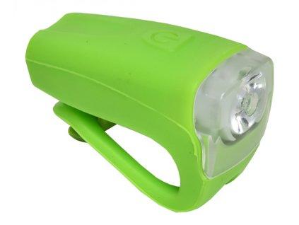 světlo přední PROFIL JY-378FU silicon 3WUSB zelené