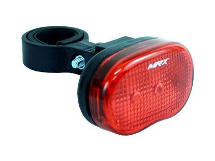 světlo zadní MRX-305R 3-LED červená