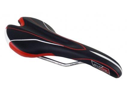 sedlo ENDZONE VL-1535 pánské černo-bílo-červené