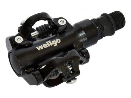 pedály WELLGO WPD-M094 oboustr. černé