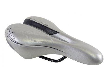 sedlo DDK D3176 dámské stříbrno-šedé