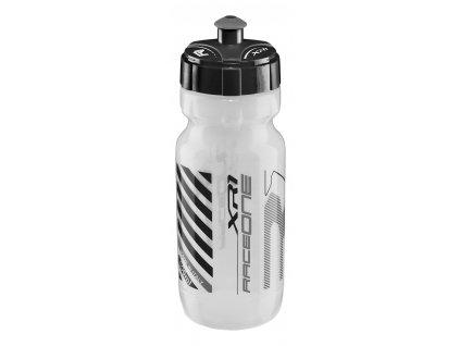 láhev RACE ONE XR1, 0,6l transparent černá