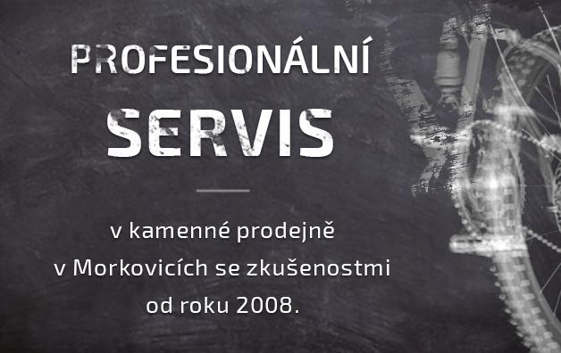Profesionální servis kol a kamenná prodejna v Morkovicích
