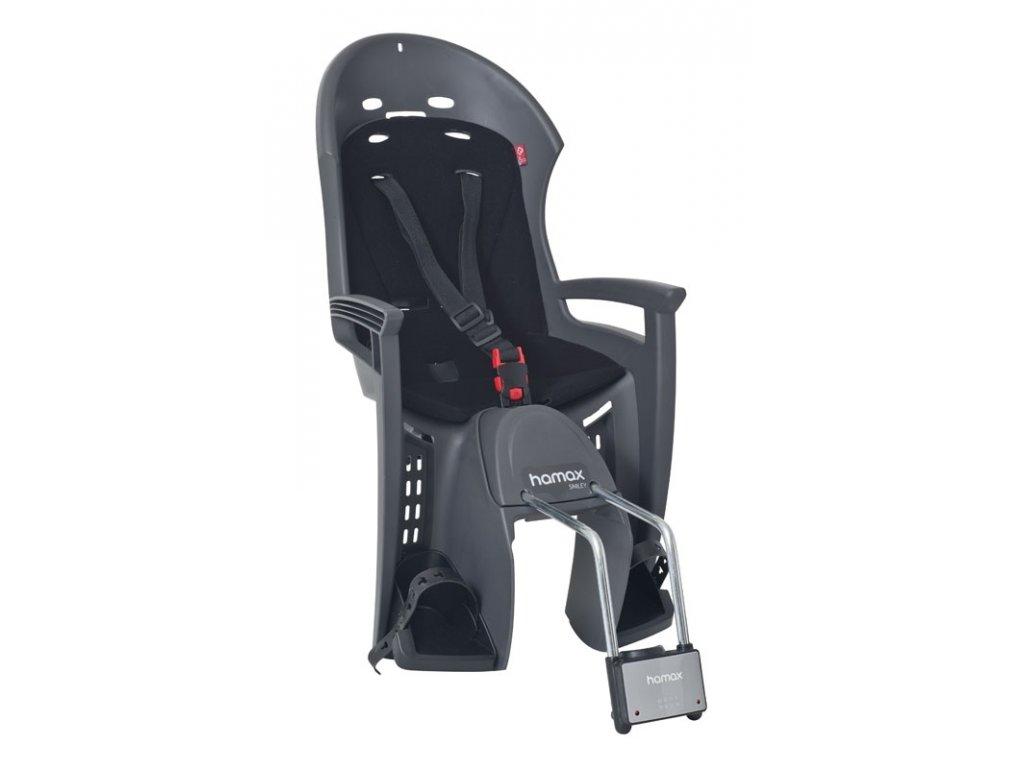 sedačka HAMAX SMILEY zadní tmavě šedá-černá