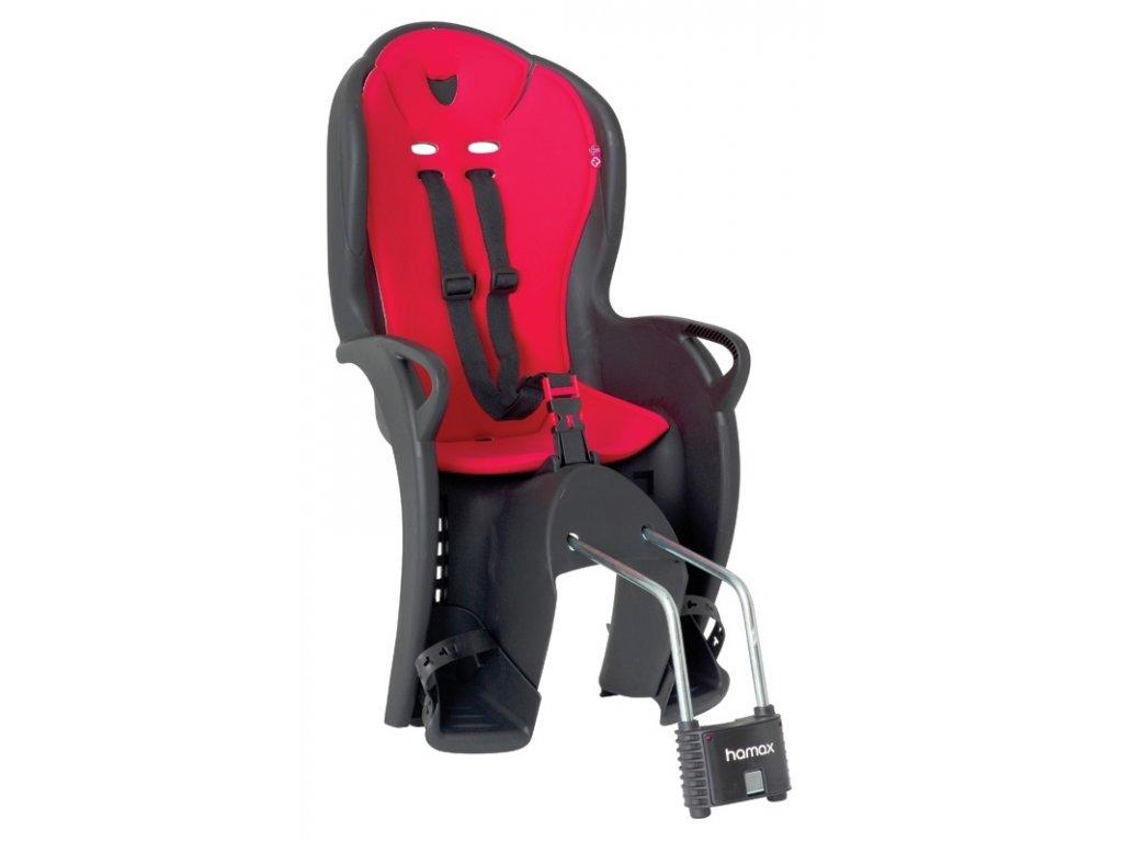sedačka HAMAX KISS zadní černo-červená