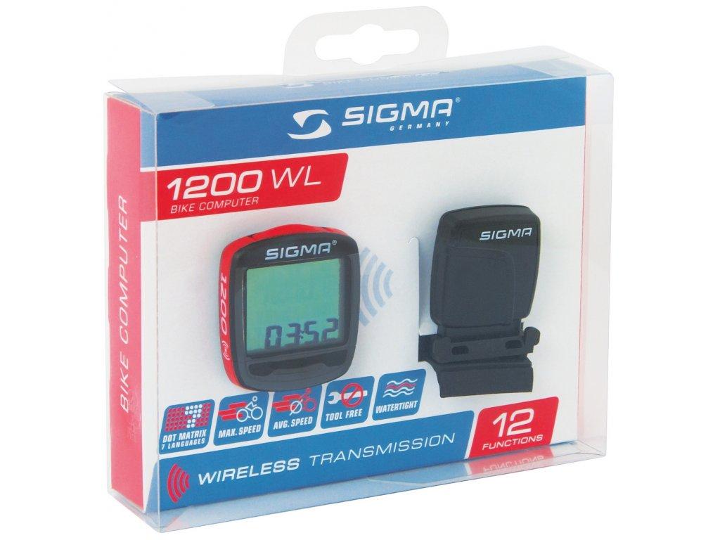 počítač SIGMA BASELINE 1200 WIRELESS, 12 funkcí
