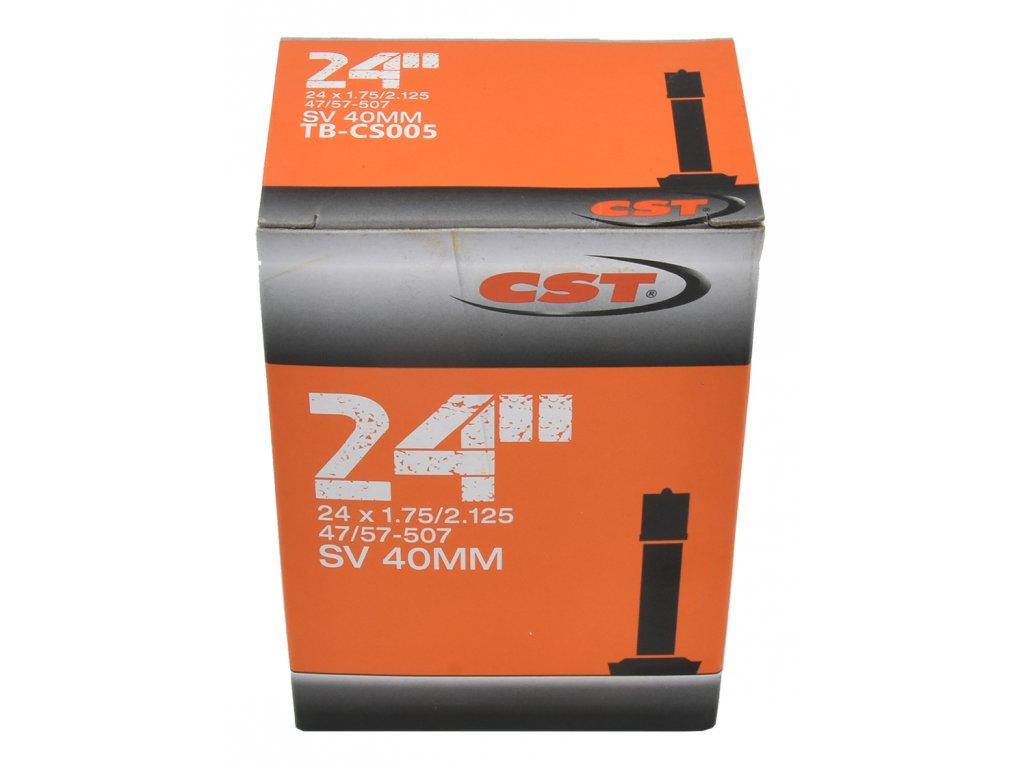 duše MRX 24x1,75-2,125 AV 40mm