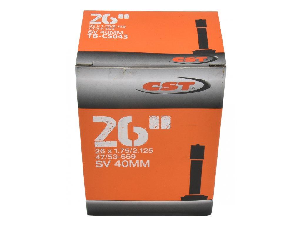 duše MRX 26x1,75-2,125 AV 40mm