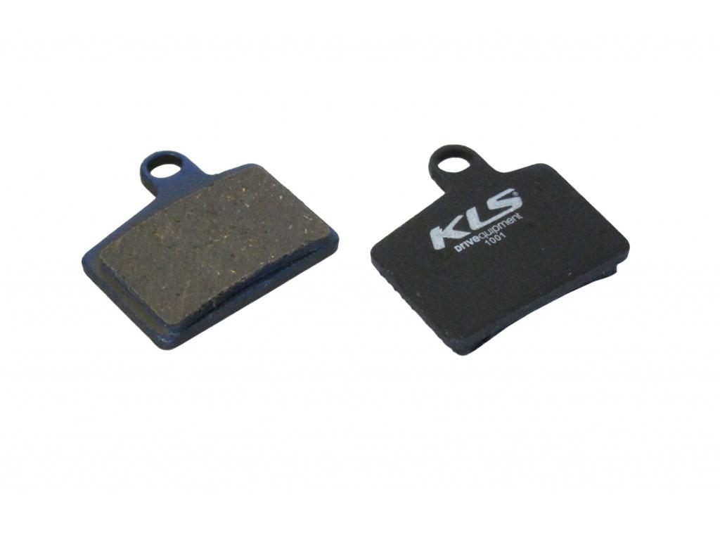 Brzdové destičky KLS D-06, organické (pár)