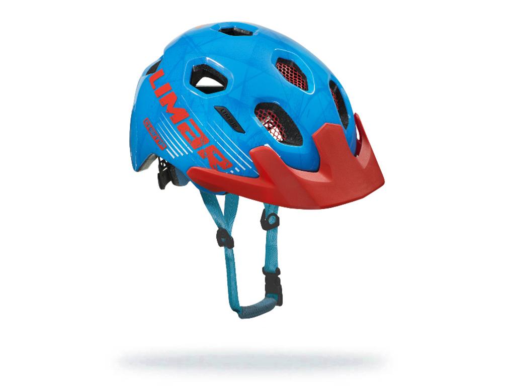 cerveno modra detska helma champ