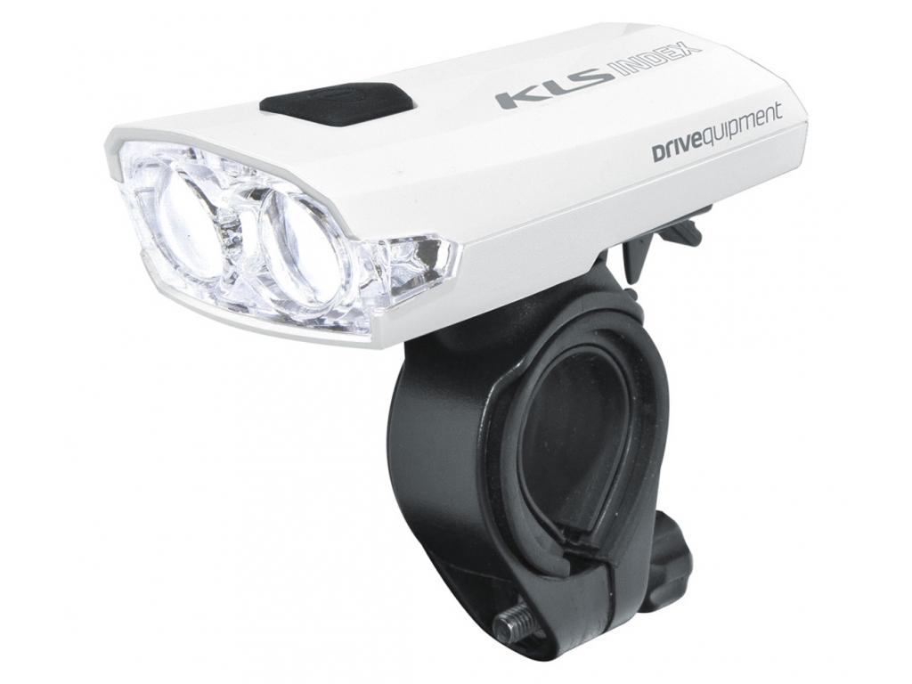 Přední světlo na kolo LED dobíjecí KLS INDEX USB 016 F, white