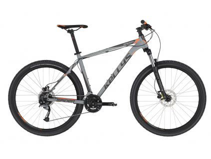 Kellys Spider 30 Grey Orange 27.5 2020 MTB kolo