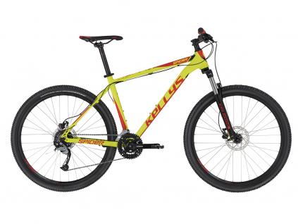Kellys Spider 30 Neon Lime 27.5 2020 MTB kolo