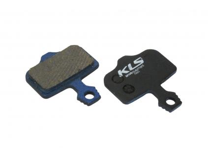 Brzdové destičky KLS D-01, organické (pár)