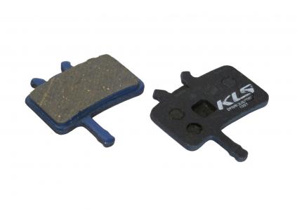 Brzdové destičky KLS D-02, organické (pár)