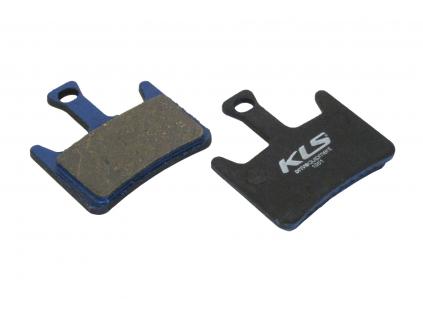 Brzdové destičky KLS D-07, organické (pár)