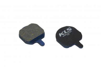 Brzdové destičky KLS D-08, organické (pár)