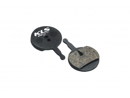 Brzdové destičky KLS D-15, organické (pár)