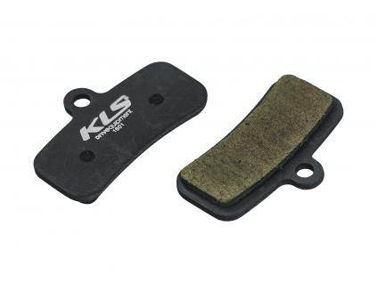 Brzdové destičky KLS D-16, organické (pár)