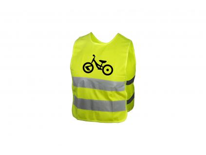 Dětská reflexní vesta KELLYS STARLIGHT bike - L