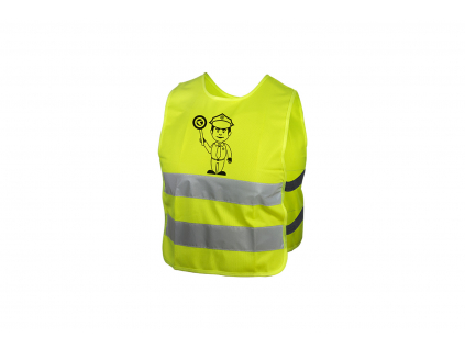 Dětská reflexní vesta KELLYS STARLIGHT police - L