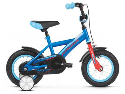 Kross racer 1 0 niebieski czerwony polysk kolo dětské 12 palcu