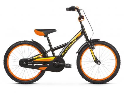 Kross racer 5 0 czarny zolty pomaranczowy polysk kolo detske 20 palcu