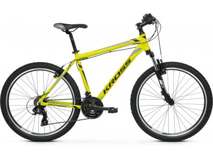 "Kross Hexagon 26"" 2020 (Yellow/Black/Grey glossy)"