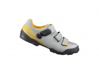 SHIMANO MTB obuv SH-ME300MG, šedá žlutá, 48