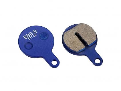 BBB brzdove desticky BBS 76