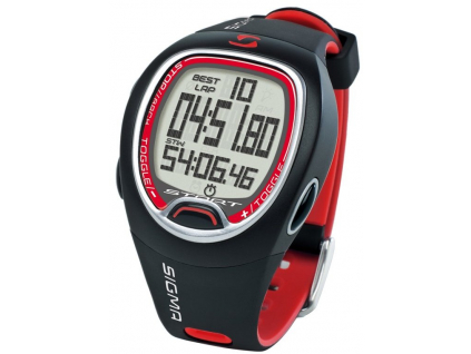 hodinky SIGMA PC 6.12 červeno/černá