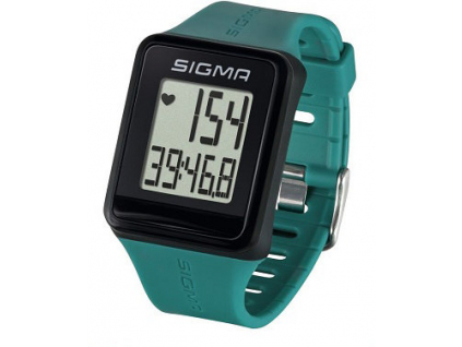 pulsmetr SIGMA ID.Go zelená pine