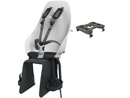 [213952] Zadní sedačka na nosič jízdního kola (Shinju White Bincho Black)