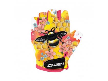 Dětské rukavice na kolo Chilba COOL KIDS | Včela