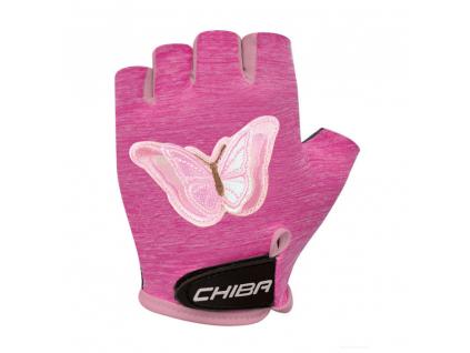 Dětské rukavice na kolo Chilba Cool Kids | Motýl
