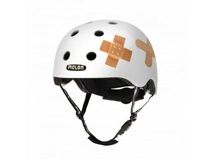 Helma na kolo Melon Plastered-White