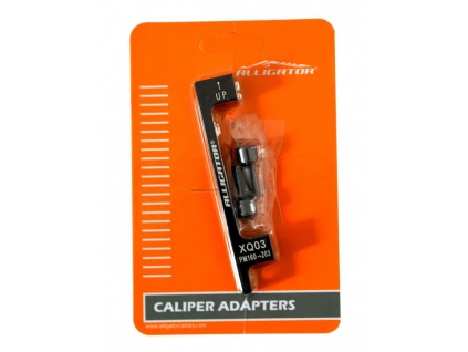 Adaptér na kotoučovou brzdu PM/PM (Z PM na PM) | Alligator HK-XQ03