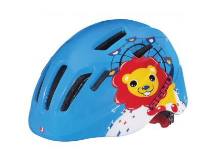 modradetska helma Limar 224 Superlight (Happy Lion)