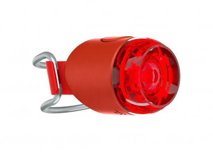 Zadní světlo na kolo knog Plug červená barva