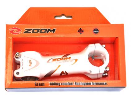 představec ZOOM 110/7°/31,8 mm bílý
