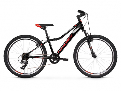 Kross HEXAGON JR 1.0 SR (Black/red/silver) 2021